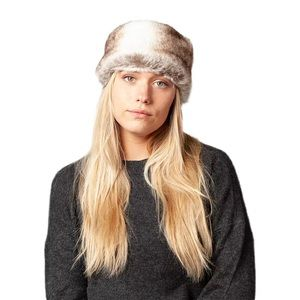 BARTS Warm Plush Brown Faux Fur Head Band
